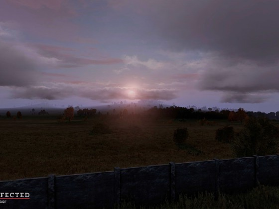 After the Village was retaken the sun greeted us and that felt great after surviving that horrible night.