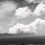 Elektro docks in panorama