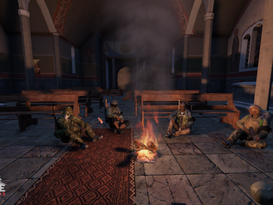 Meeting in the Church