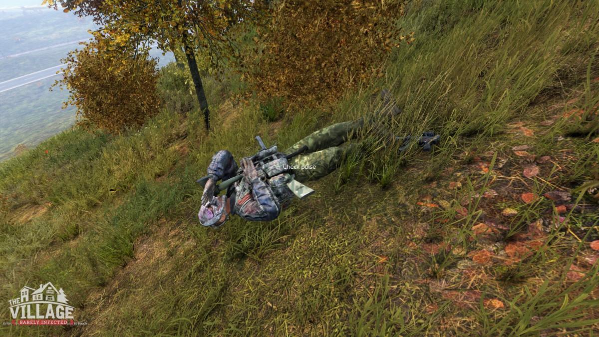 He died like a knight!