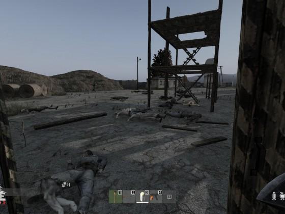 The old Village is still a dangerous place - RIP Alex
