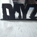 I have just 3D printted this cool DayZ logo.