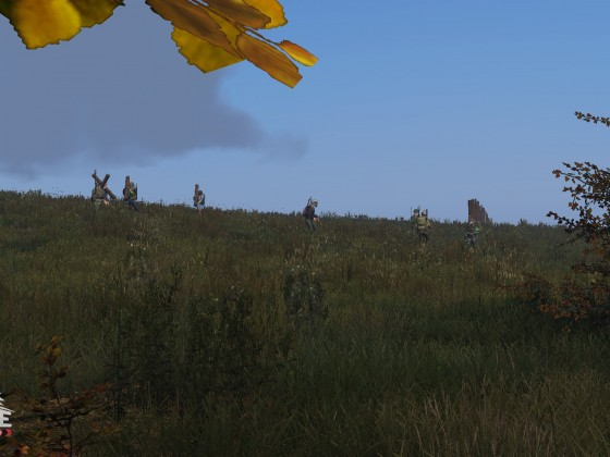 The Great Wall of Chernarus!