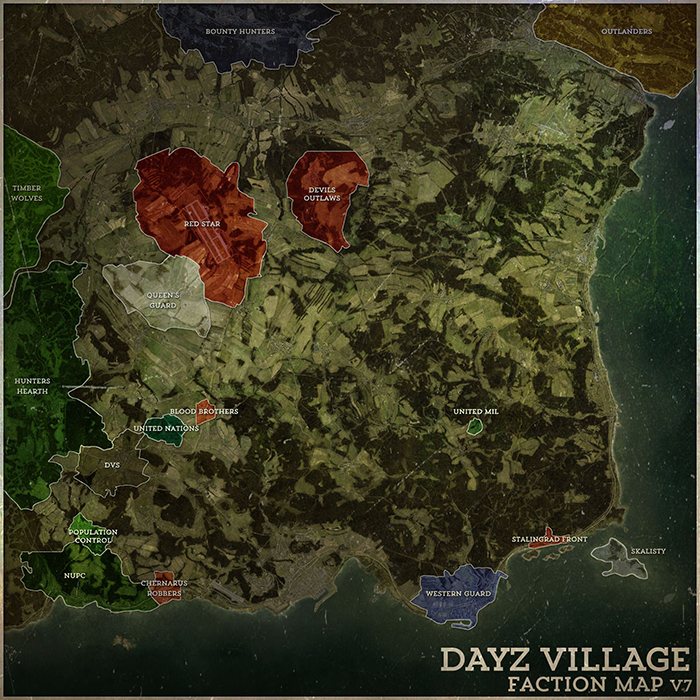 Update Thursday: New Faction Map & Radio Frequency - Barely ... on